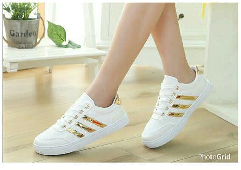 Sepatu Kets Wanita 3 jual sepatu wanita sepatu kets sintetis ns67 novia