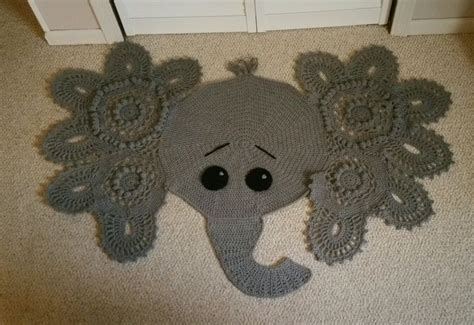 Elephant Crochet Rug by 17 Best Images About Stuff Animals Ect On