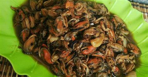 Kerang Madu resep kerang saus madu oleh runa ucupz cookpad