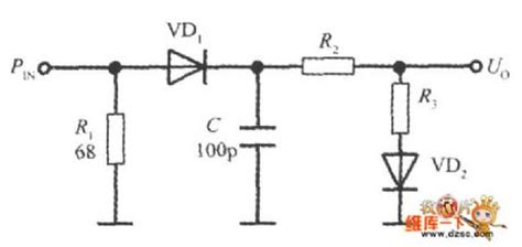 temperature compensating diode temperature compensated diode input power detector circuit circuit diagram world
