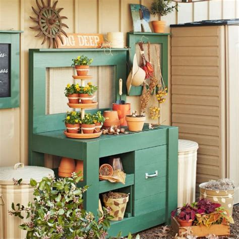 lowes potting bench how to make a tiered planter plant stand from terra cotta