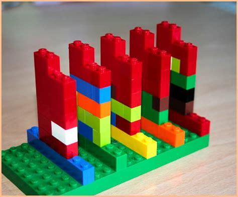 Blocks Lego lego blocks as time trackers
