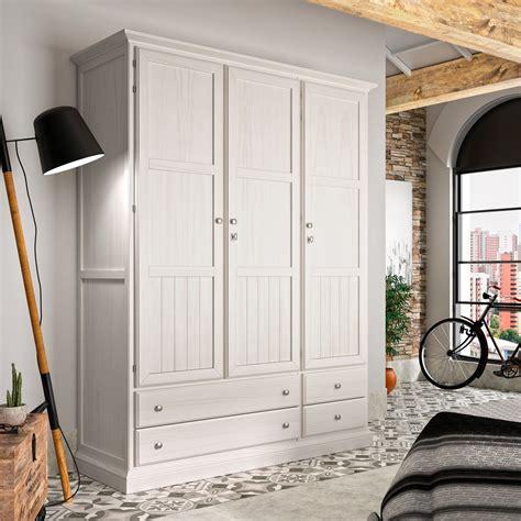 armario rustico niger   puertas de madera demarques