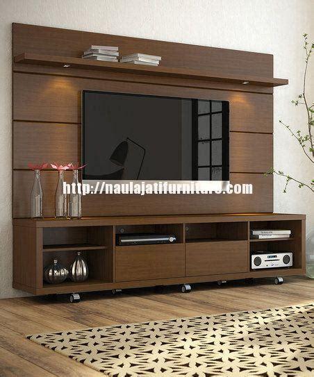 Meja Tv Jati Modern desain rak tv modern blok kayu jati naula jati furniture