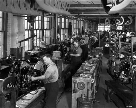 harley davidson factory  yesteryear