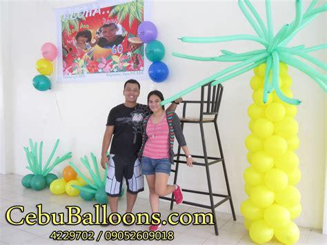 Hawaiian Balloon Decorations by Hawaiian Decorations Ideas Stunning Home Design