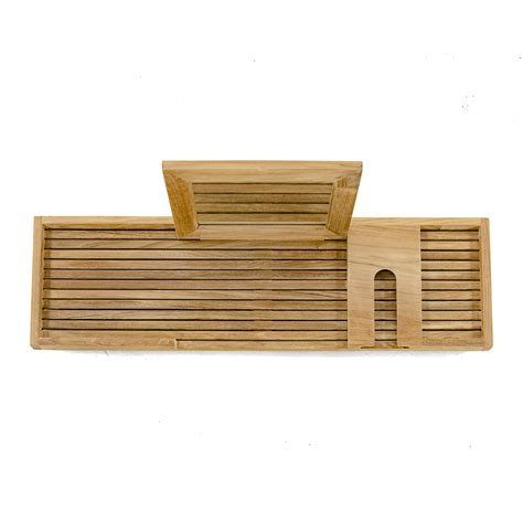 teak bathtub caddy teak bathtub tray westminster teak outdoor furniture