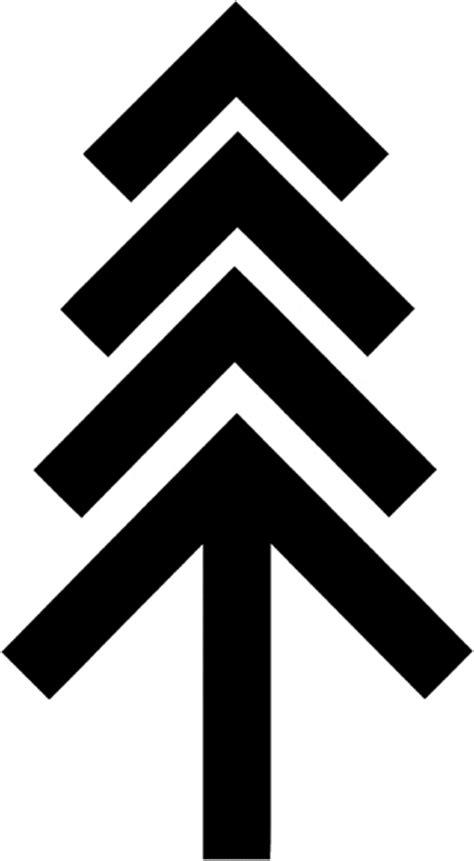signspecialist com beevault decals pine tree symbol