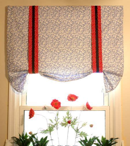 pattern for tie up valance tie up valance tutorial window treatments ideas diy