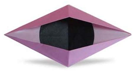 Origami Blinking Eye - origami blinking eye