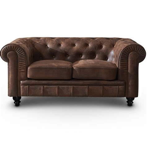 canapé relaxima canap 233 chesterfield 2 places vintage canap 233 s chesterfield
