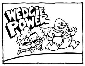 Captain Underpants Coloring Pages Wedgie Power Get Captain Underpants Coloring Pages