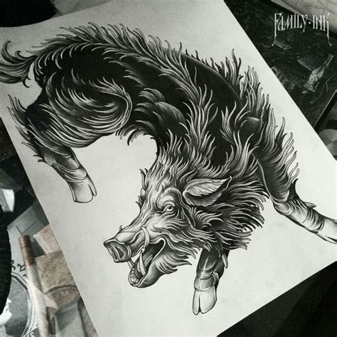 boar tattoo 206 best pigz n hogz images on boar