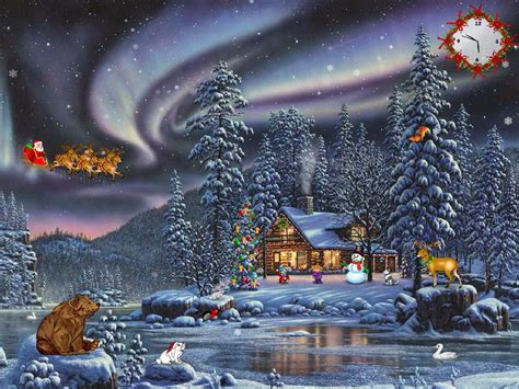 wallpaper christmas animations free animated screensavers for free happy holidays