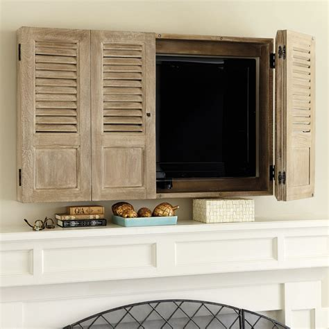 wall mounted tv cabinet shutter tv wall cabinet for the home tv