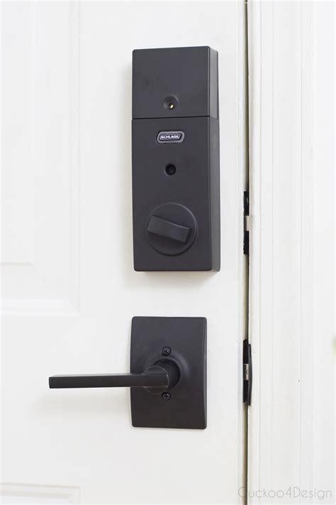 Wifi Bolt Lock our new schlage bluetooth smart door lock cuckoo4design