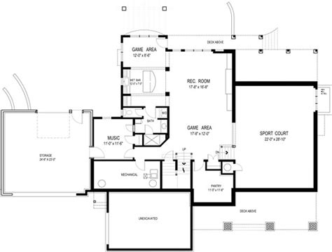 home bar floor plans extend your homes living space with a basement floor plan