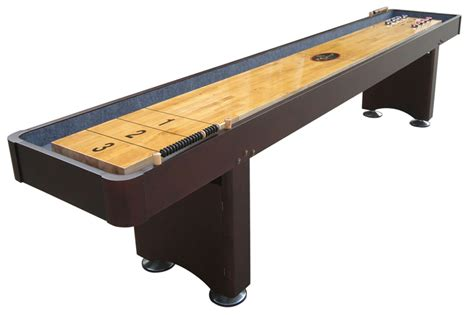 12 georgetown espresso shuffleboard table