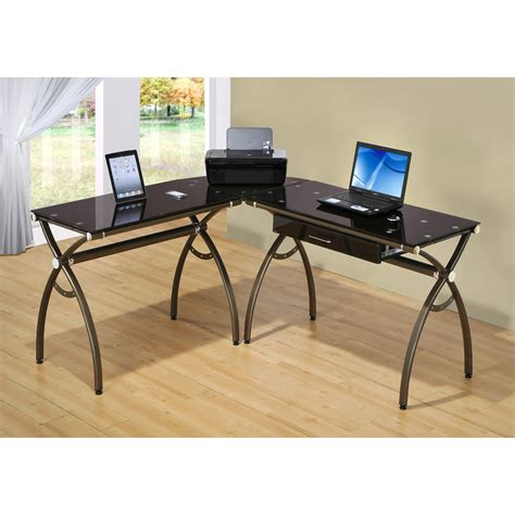 techni mobili  shaped computer desk reviews wayfair