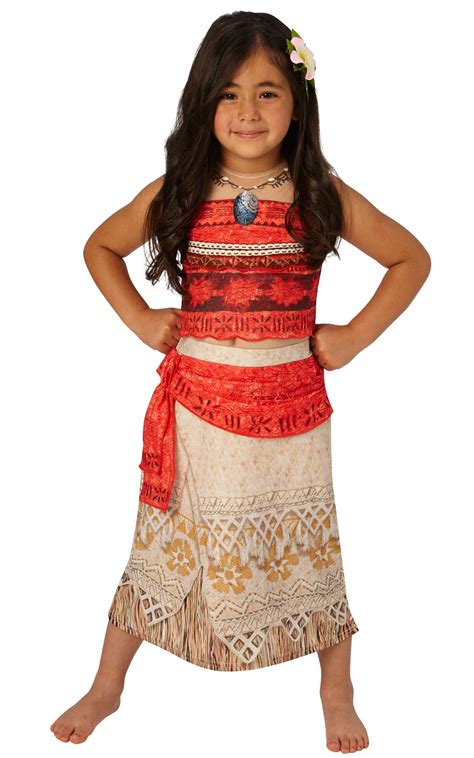 Dress Moana by Deluxe Moana Costume Tv Book And Costumes Mega