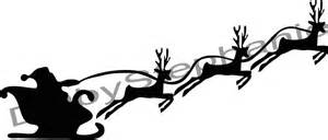 kitchen residential: santas sleigh and reindeer santa sleigh and reindeer template
