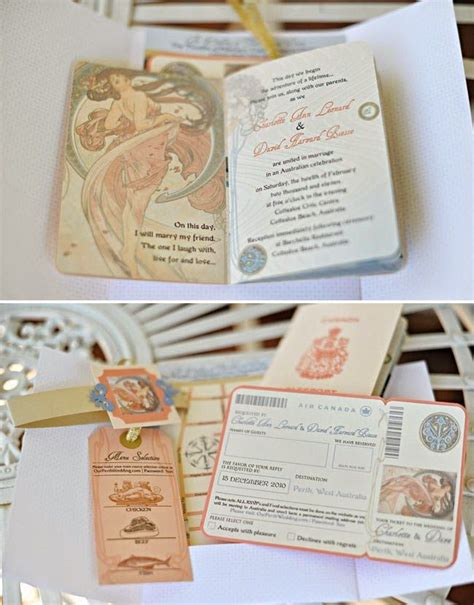 newspaper themed wedding invitation 19 best images about travel themed wedding on pinterest