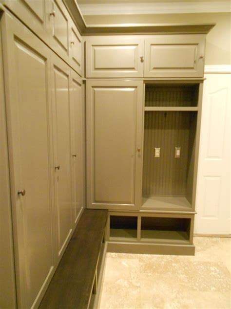 Mudroom Cabinets With Doors by Mudroom Lockers Closed Doors Ski Cabin