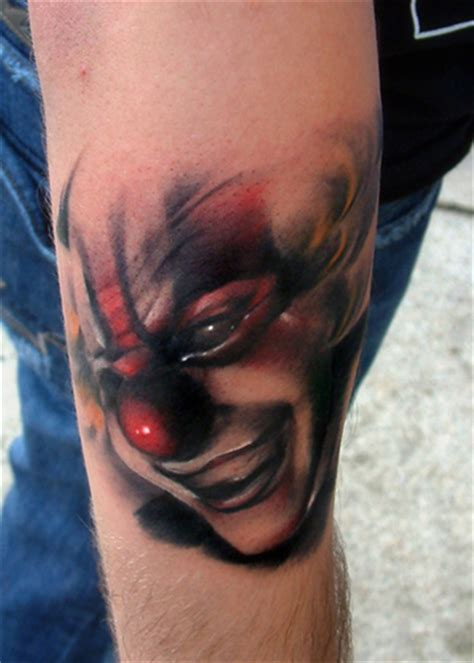 tattoo blog 187 clown tattoo pictures