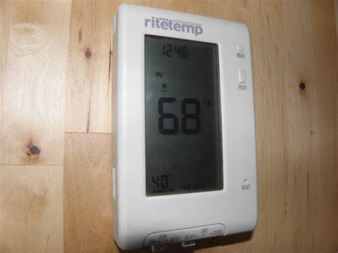 ritetemp thermostat wiring diagram braeburn thermostat