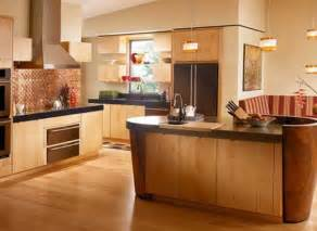 Wood Color Paint For Kitchen Cabinets by Tips To Match Wood Tones With Wall Colors In Home Interior