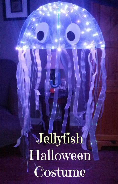 Octopus Lamp Amazing Diy Jellyfish Costume Almost The Real Thing