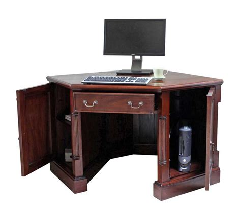 Mahogany Corner Desk Some Option For Corner Desks For Home Office Decoration So You Can Choose The Corner Desk That