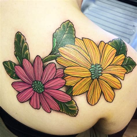 100 pretty daisy tattoo designs and meanings 2017