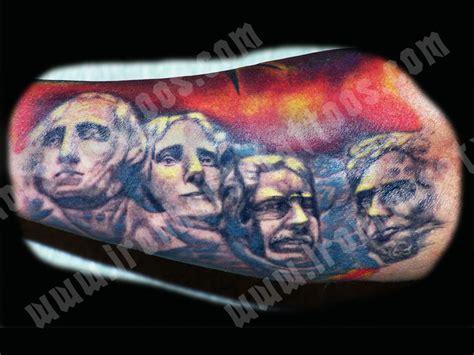 mount rushmore tattoo mount rushmore tattoos