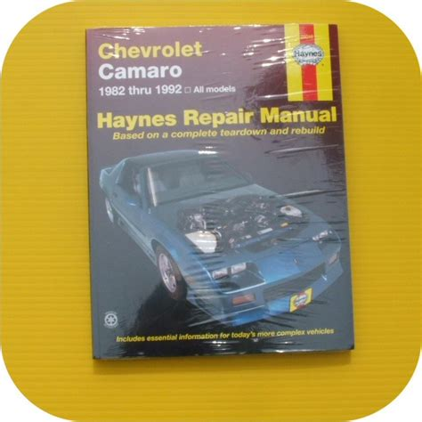 repair manual haynes 24016 fits 82 92 chevrolet camaro ebay repair manual book chevy camaro z28 rs iroc tpi 82 92 joetlc