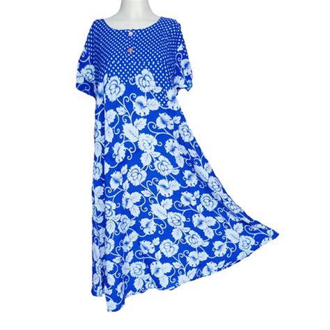 Parfum Gatsby Warna Biru daster alamanda lengan pendek warna biru murah toko