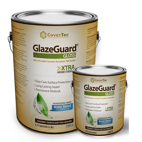 covertec glazeguard gloss floor sealer wall sealer for