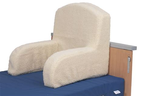 armchair shaped pillow fleece bed positioning aid