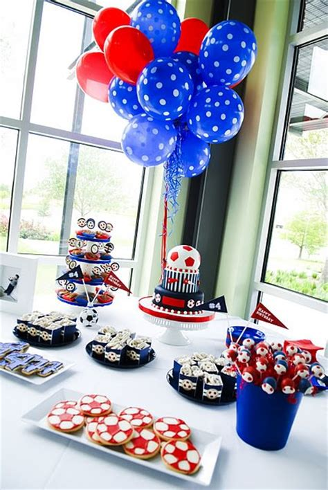 soccer theme decorations the best sports birthdays 15 ideas tip junkie