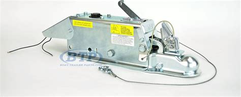 titan model 60 hydraulic trailer disc brake surge coupler