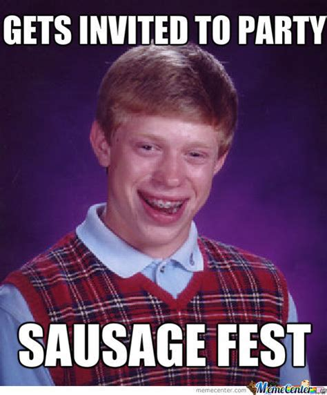 Hnnng Meme - sausage fest by domecity meme center