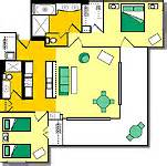 lawai resort floor plans point at poipu timeshare