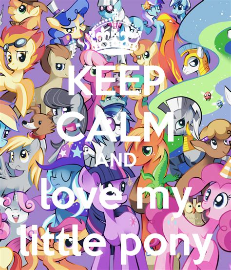 My Pony Children Mug 240ml keep calm and my pony poster fruiteevee