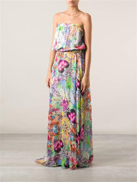 Philipp Plein Kaftan philipp plein floral print maxi dress lyst