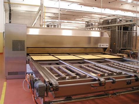 Wiremesh Oven Conveyor System cyclothermic indirect gas fired ovens