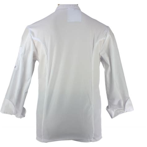 blouse de cuisine blouse de cuisine blanche ultra l 233 g 232 re pour homme lisavet