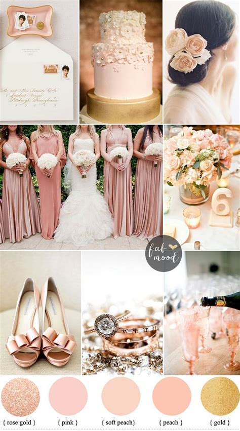 blush gold and wedding colours sophisticated and beautiful colours the
