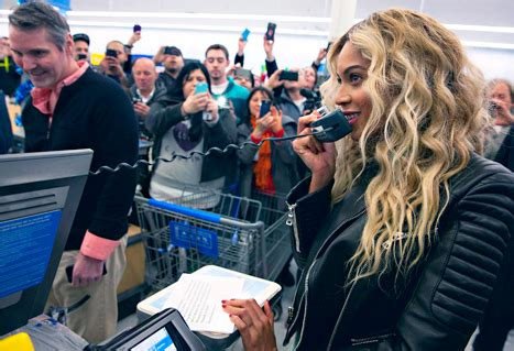 Walmart Gift Card Registration - beyonce surprises fans at walmart store pictures
