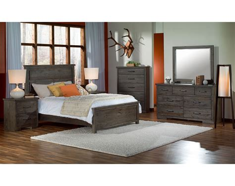 raven bedroom set raven queen bed slate furniture ca