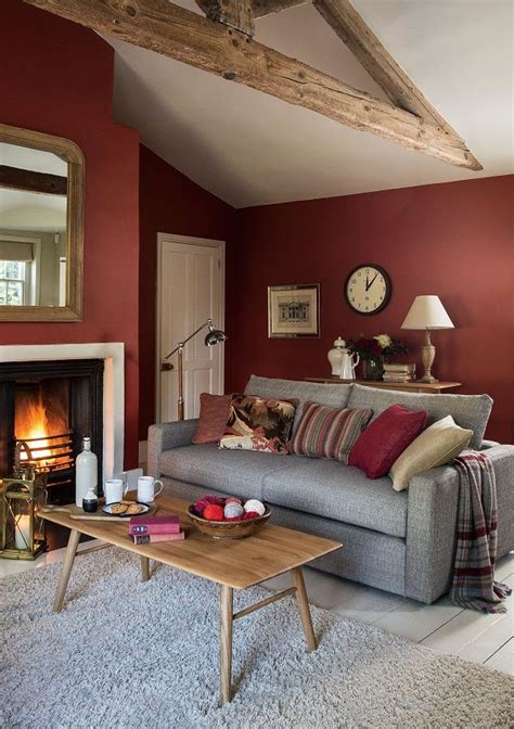 red wall living room 25 great ideas about red walls on pinterest